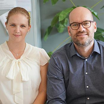 Lena Woyte und Ludger Wolters